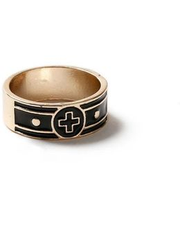 Gold Cross Ring*