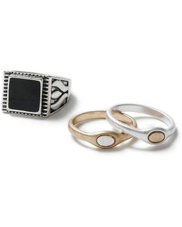 Jet Signet Ring Pack*