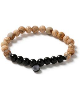 Black Shard Drop Bracelet