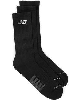 Black 3 Pack Socks