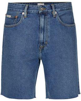 Blue Denim 90's Shorts