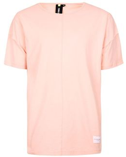 Pink Layered Sleeve T-shirt