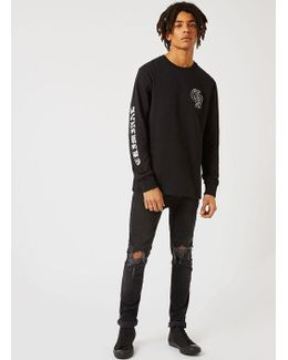 Black Los Angeles Long Sleeve T-shirt