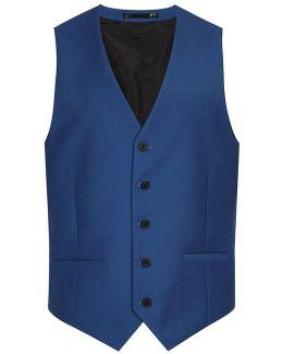 Farah Blue Waistcoat