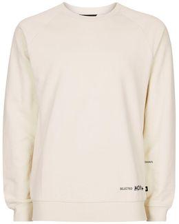 Stone Raglan Sweatshirt