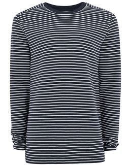 Navy Ripple Sweatshirt