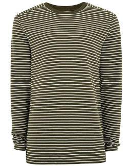 Green Ripple Sweatshirt