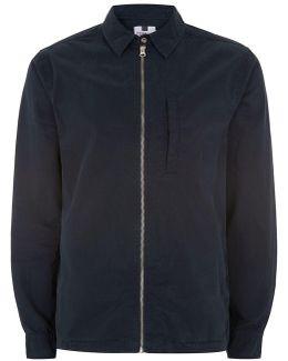 Classic Navy Harrington Jacket
