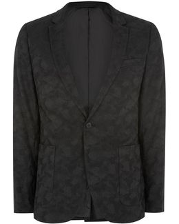 Shadow Camouflage Ultra Skinny Suit Jacket