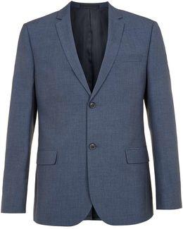 Blended Blue Slim Fit Suit Jacket
