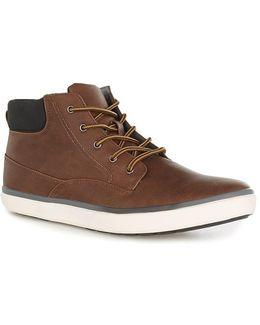 Tan Parker Cuff Boots