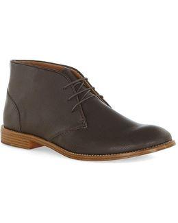 Brown Spin Chukka Boots