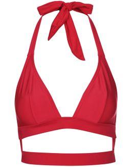 Fuller Bust Triangle Bikini Top By