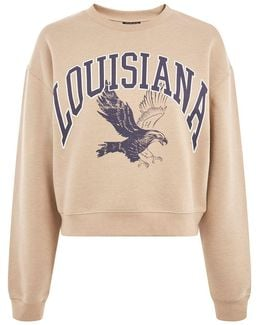 Louisiana Cropped Sweatshirt