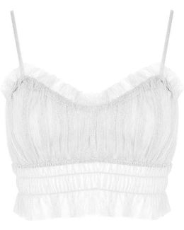 Mesh Ruched Bralet