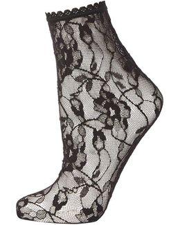 Sweet Roses Ankle Socks By Jonathon Aston