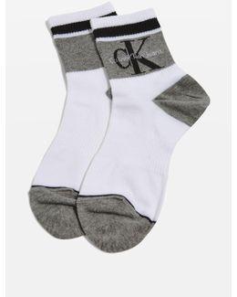 Retro Logo Socks By