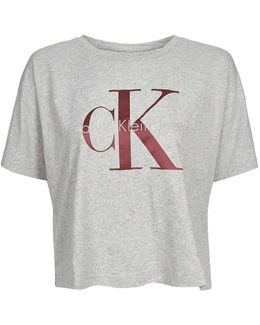 Cropped T-shirt By Calvin Klein