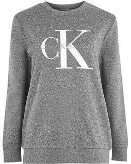 Crew Neck Sweatshirt By