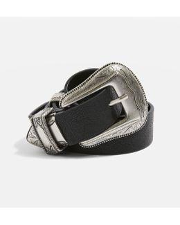 Pu Double Buckle Belt