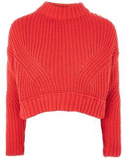 Knitted Crop Jumper