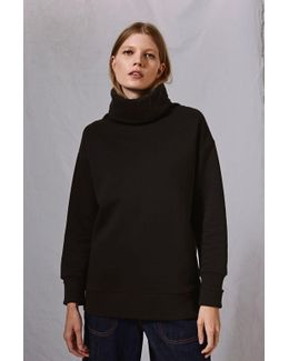 Diana Cowl Sweatshirt By Boutique