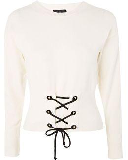 Petite Corset Sweatshirt