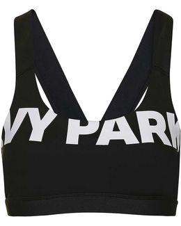 V-back Mesh Insert Bra By Ivy Park