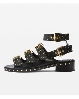 Frank Buckle Sandals