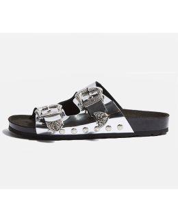 Falcon Buckle Sandals
