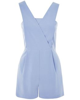 Structured Pinafore Playsuit