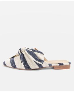 Adele Bow Slip On Shoes
