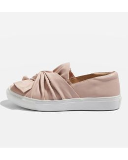 Twisted Slip On Trainers