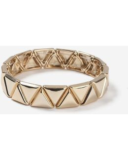 Tri-stud Stretch Bracelet