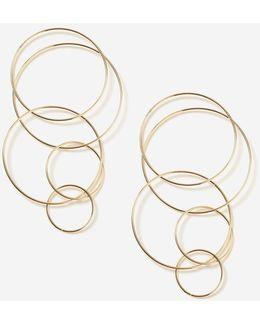 Multi Loop Drop Earrings