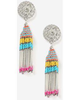 Bright Multi Drop Earrings