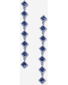 Rhinestone Diamond Drop Earrings