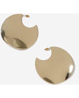 Organic Circle Earrings