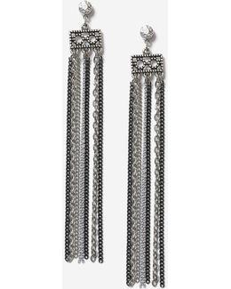 Multi-chain Drop Earrings