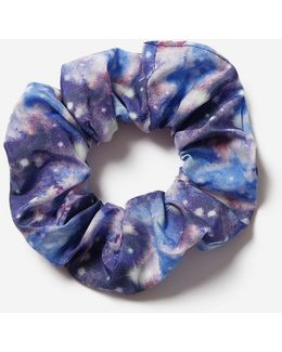 Galaxy Print Scrunchie