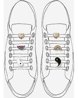 'bright' Motif Shoe Clips