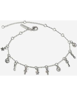 'peace' Charm Anklet