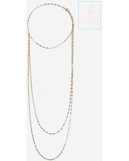 Cut Back Drape Necklace