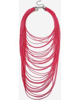 Multi-row Cord Necklace
