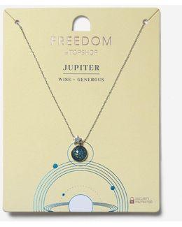 Jupiter Ruling Planet Necklace