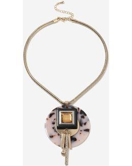 Shape Cluster Necklace