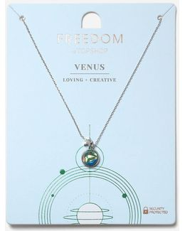 Venus Ruling Planet Ditsy Necklace