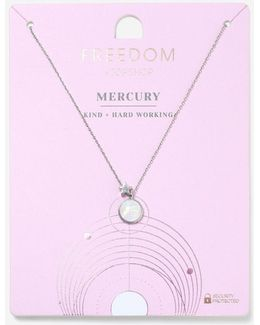 Mercury Ruling Planet Ditsy Necklace