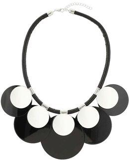Circle Disc Necklace
