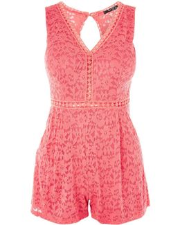 Lace Playsuit By